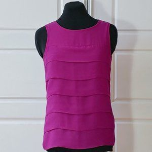 JACOB Pink/purple layered camisole